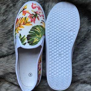 Tropical Print Shoes